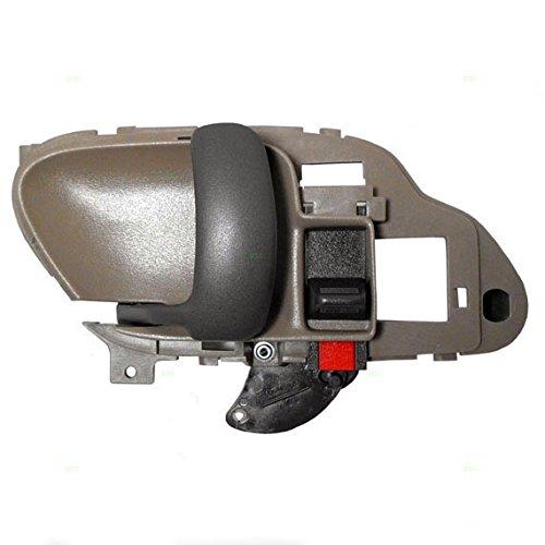 Drivers Inside Inner Tan Door Handle Replacement for Chevrolet GMC Pickup Truck SUV 15708043 (Silverado Inner Door Handle compare prices)