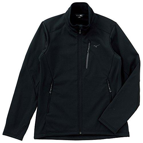 (ミズノ)Mizuno ブレスサーモ ウィンドストッパージャケット [MEN'S] A2JC4536 09 ブラック L