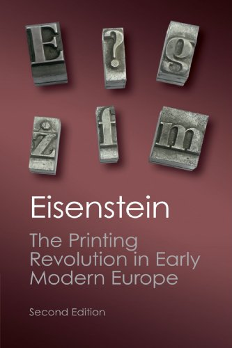 The Printing Revolution in Early Modern Europe (Canto Classics)