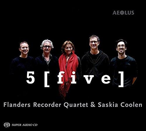 SACD : BACH,J.S. / FLANDERS RECORDER QUARTET / COOLEN - 5