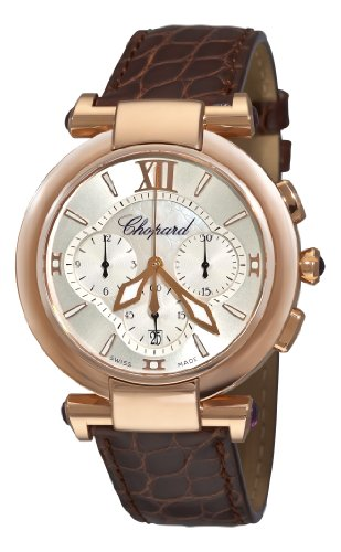 Chopard Imperiale Womens Rose Gold Chronograph Watch 384211-5001