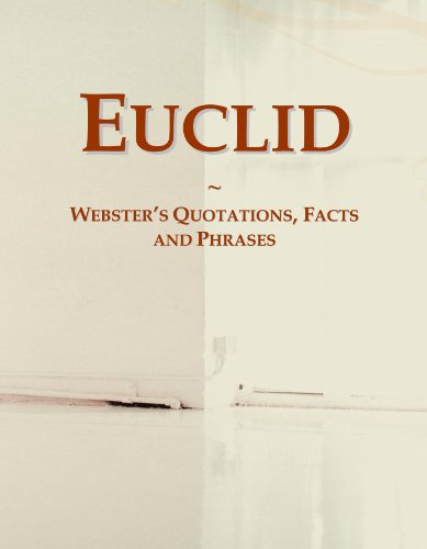 Euclid: Webster's Quotations, Facts and Phrases