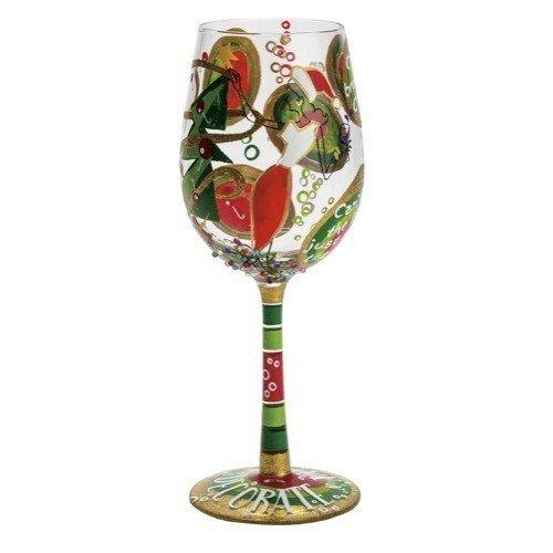 Santa Barbara Design Studio Drink 'N Decorate Lolita Wine Glass, Multicolor (Decorate Wine Glasses compare prices)