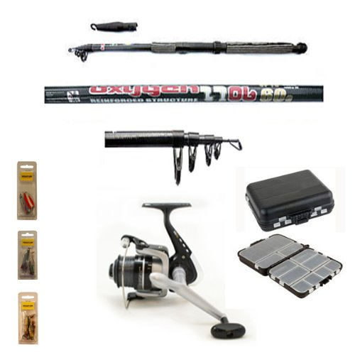 Carbon Telescopic Fishing Starter/Travel Set