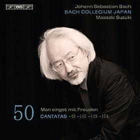 Ich lebe, mein Herze, zu deinem Ergotzen, BWV 145: Aria: Merke, mein Herze, bestandig nur dies (Bass)