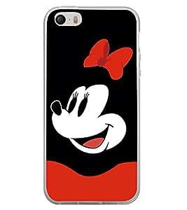 Printvisa Popular Cartoon Character 2D Hard Polycarbonate Designer Back Case Cover For Apple Iphone 5
