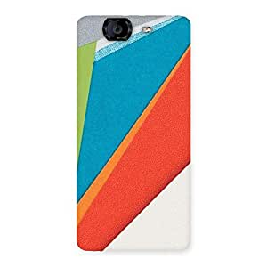 HexCol Pattern Multicolor Back Case Cover for Canvas Knight A350
