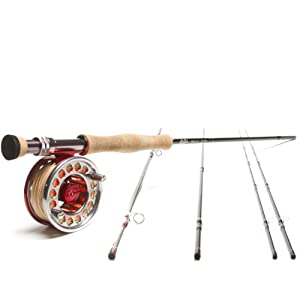 Red Truck Diesel  Bonefish  8 Wt Fly Fishing Outfit  - Ready to Fish by Red Truck Fly Rods