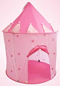 Charming Fairy Princess Castle Play Tent Great For Indoor Outdoor by Joybay