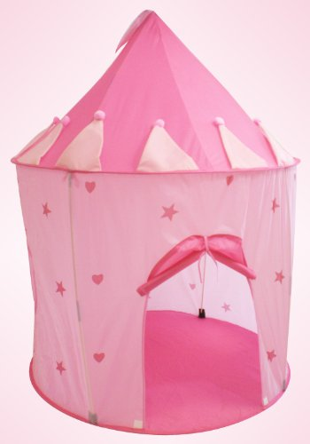 Charming Fairy Princess Castle Play Tent (Great for Indoor/ Outdoor)