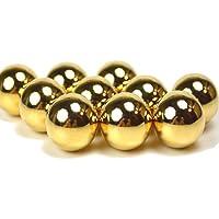 風水の黄金の玉 ●20mm玉ゴールドボール金塊 《金運/財運アップ/ギャンブル運/勝負運》