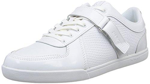 Jim Rickey  Walcott,  Sneaker uomo Bianco Blanc (Snake) 44