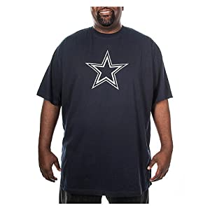 Dallas Cowboys Mens Big and Tall Logo Premier T-Shirt by Dallas Cowboys