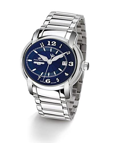 Philip Watch Reloj Swiss Made Anniversary Plata / Azul