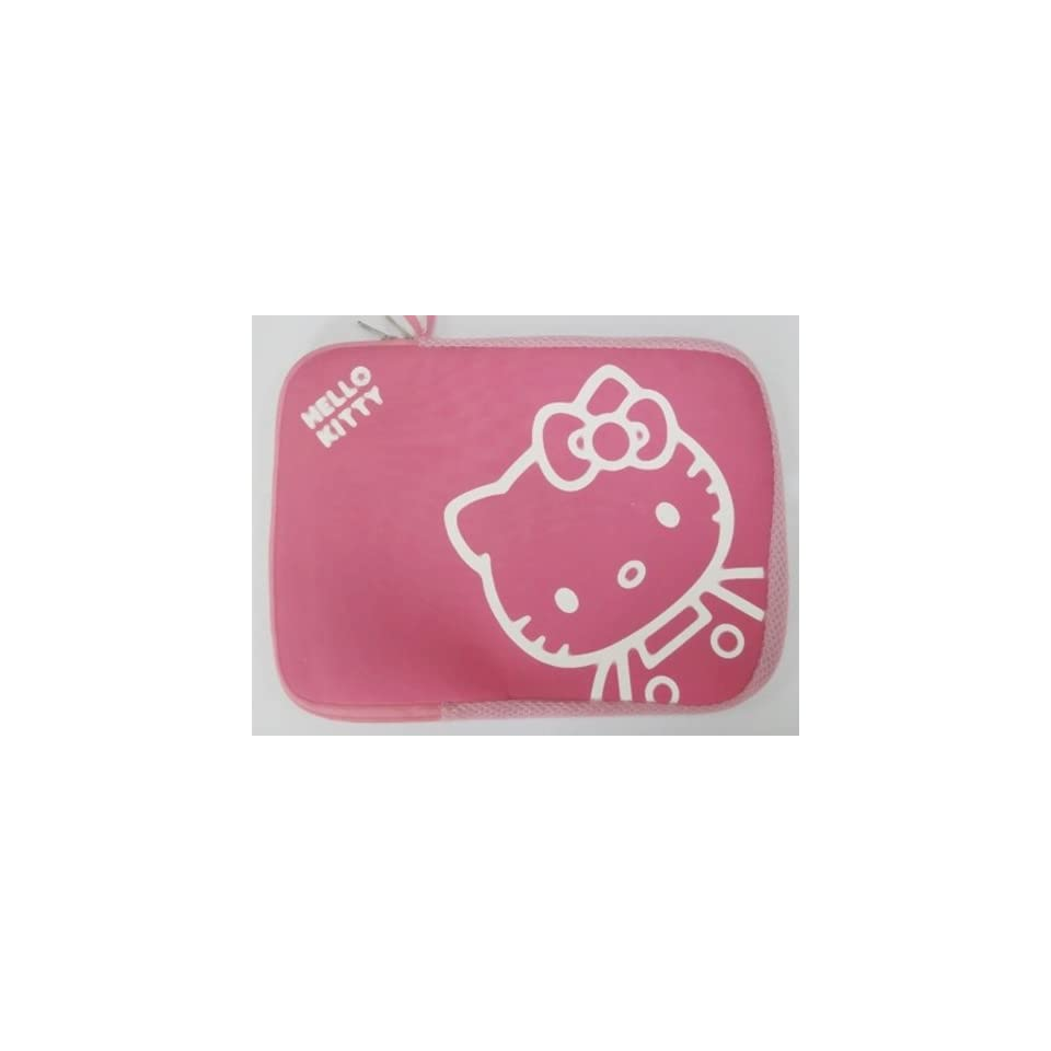 14 inch Cute Pink Hello Kitty Style Laptop Case/Bag