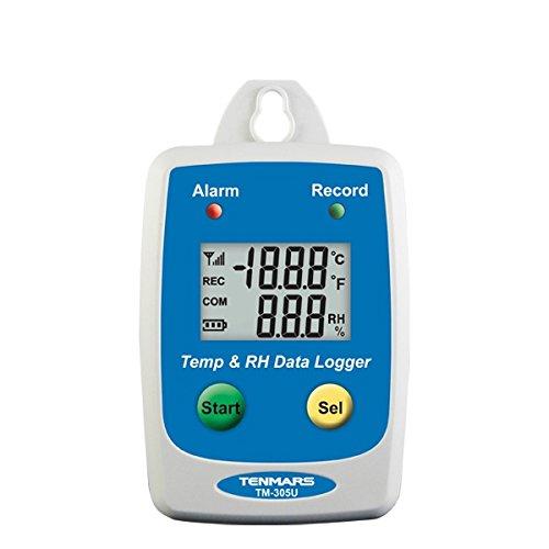 TM-305U Temperature & Humidity Datalogger - 1