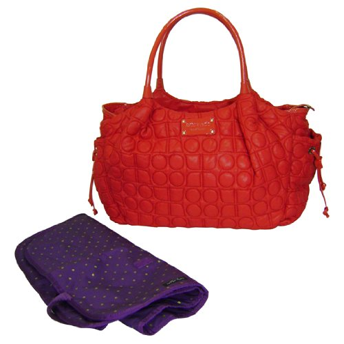 Kate Spade Stevie Baby Bag Chamonix Tote Red
