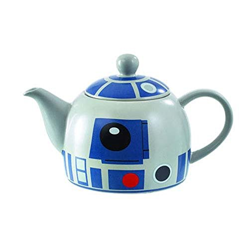 Star Wars R2D2 Teapot - Quality Ceramic with Detailed Design from Underground Toys