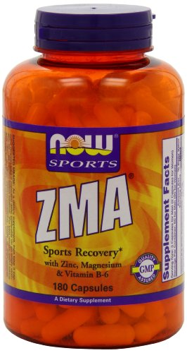 Now Foods ZMA Sports Recovery Capsules, 180-Count (Now Energy Capsules compare prices)