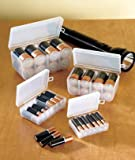 Set of 4 Battery Storage Boxes