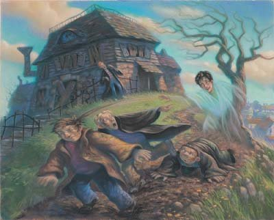 The Cloak of Invisibility -- Harry Potter Print