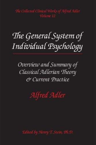 a short overview of the tenets of adlerian psychology The strengths and weakness of adlerian therapy his approach was centered on such subjects as lifestyle, beliefs adlerian psychology was introduced at.