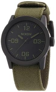 Nixon Herren-Armbanduhr Analog verschiedene Materialien A0491042-00