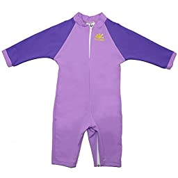 Fiji Sun Protective UPF 50+ Baby Swimsuit by Nozone in Lavender/Purple, 12-18 months