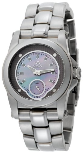 REACTOR Women's 96017 Helium Latte Pearl Dial Stainless Steel Sport Watch