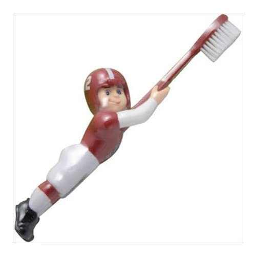 7 NCAA Collegiate Alabama Crimson Tide Football Player Toothbrush