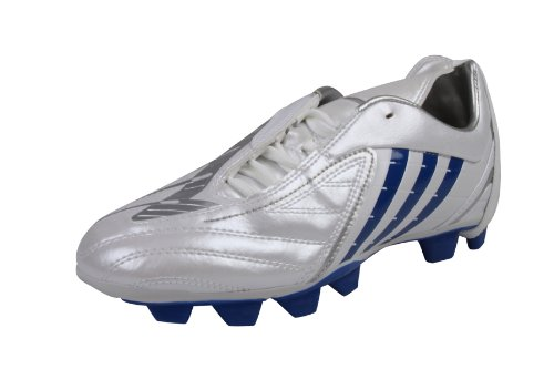 Adidas Predator Absolado PS TRX FG Womens football boots soccer trainers shoes Traxion Firm Ground ladies woman Running white/Colroy/Metsil Size 4.5