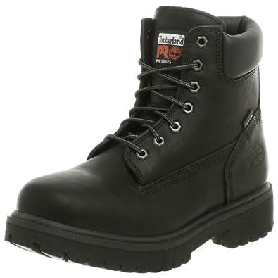 (热卖) 踢不烂Timberland Pro Men Direct Attach 6真皮软头靴, 黑色 $78.76