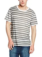 Cheap Monday Camiseta Manga Corta (Blanco / Gris)