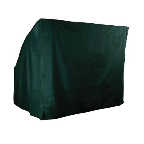 WorldStores Garden Furniture Cover - Polyester 4 Seater Swing Cover - Garden Hammock Cover - 244cm x 146cm - Waterproof, Durable Cover - Green