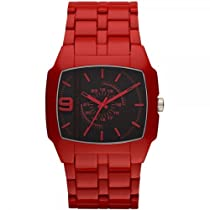 Diesel DZ1551 Mens DSL Red Acetate Watch