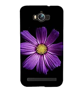 Beautiful Purple Flower 3D Hard Polycarbonate Designer Back Case Cover for Asus Zenfone Max ZC550KL :: Asus Zenfone Max ZC550KL 2016 :: Asus Zenfone Max ZC550KL 6A076IN