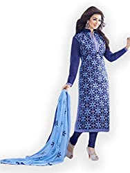 Neelkanth Women's Cotton Unstitched Dress Material (FB-5094_Multi-Coloured_Free Size)