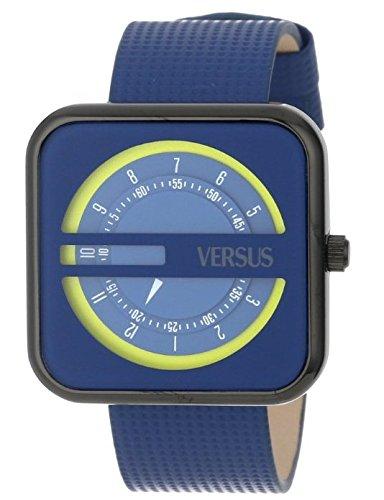 Versus - SGH03 - Kyoto - Montre Mixte - Quartz Analogique - Cadran Gris - Bracelet Caoutchouc Gris