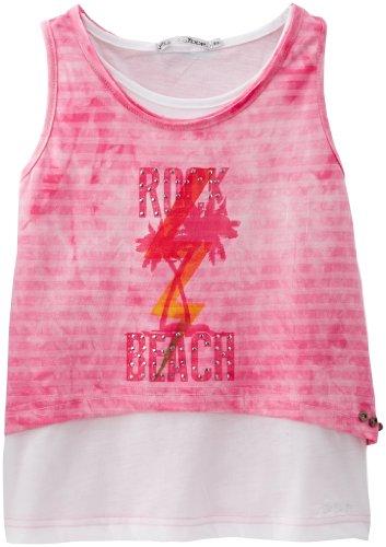 DDP - Canotta, Bambine e ragazze, Rosa (Rose (Pink)), Taglia produttore: 10 ans