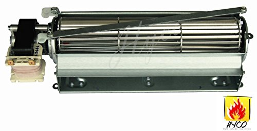 Hyco Fbk 100 Fbk 200 Fbk 250 Blot Replacement Fireplace Blower Fan Unit Compatible With