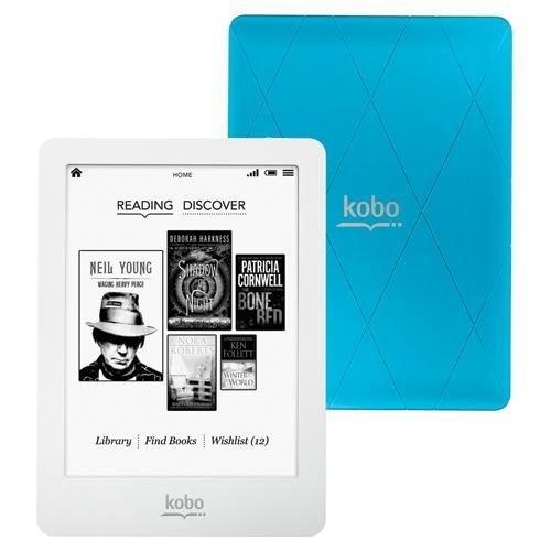 "Kobo N613-KBO-U Tablette tactile 6"" (15,24 cm) IMAPX 1 GHz 2 Go Android Wifi Bleu"