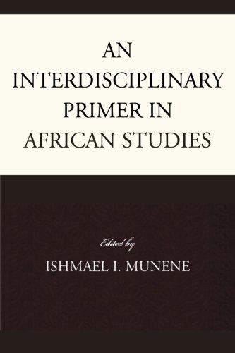 Una cartilla interdisciplinaria en estudios africanos