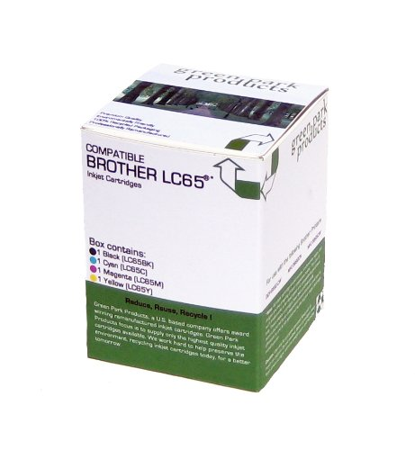 Brother LC65 Full Set of Premium Compatible ink