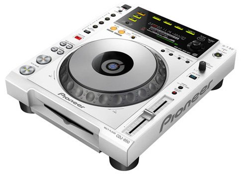 Pioneer Performance Multi Player - White - Cdj-850-W
