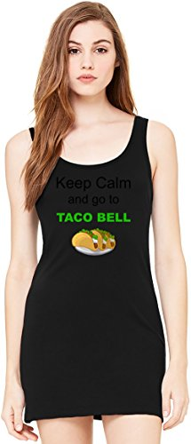 keep-calm-and-go-to-taco-bell-funny-slogan-bella-basic-sin-mangas-de-la-tunica-sleeveless-tunic-tank