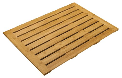 Seville Classics 27.95-Inch by 21.95-Inch Bamboo Floor Mat