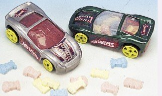 12 - HOT WHEELS CANDY CAR DISPENSER - COLORS VARY