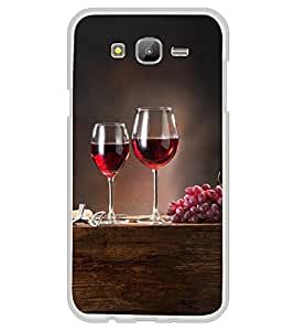 Grapes and Wine 2D Hard Polycarbonate Designer Back Case Cover for Samsung Galaxy E7 (2015) :: Samsung Galaxy E7 Duos :: Samsung Galaxy E7 E7000 E7009 E700F E700F/DS E700H E700H/DD E700H/DS E700M E700M/DS