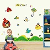 Angry Birds Reusable 3rd Generation Removable Art Decal Wall Stickers V2