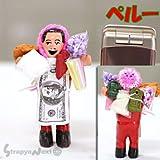 【Peru☆ペルー】話題の願いをかなえてくれるボリビア エケコ人形(エケッコー/エケッコ)オブジェ【S】(QXA0501)